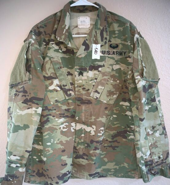 US Army OCP Scorpion Unisex Combat Shirt Small Regular Used 4 140