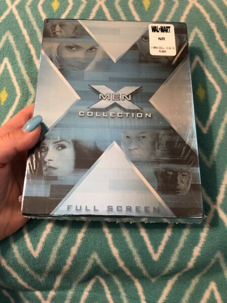 X Men Collection The: X2 X Men 1.5 DVD 2003 4 Disc Set BRAND NEW SEALED