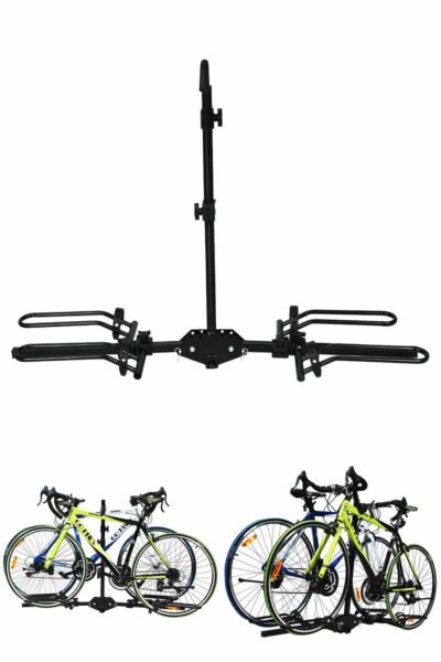 2 Bike Carrier Platform Hitch Rack Bicycle Rider Mount Sport Fold Receiver 2quot; $109.71