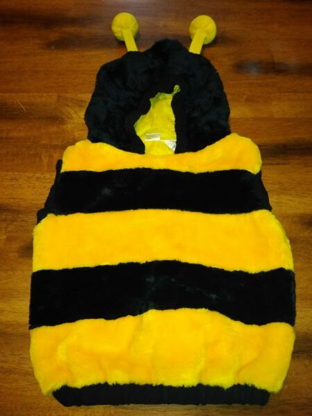 Bumblebee Infant Hooded Bunting Halloween Costume Size 12 24 months