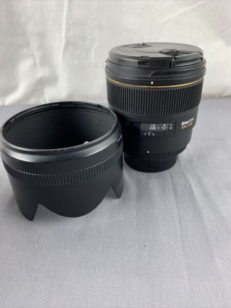 Sigma EX 85mm f 1.4 HSM DG EX Lens For Nikon Nice See pictures