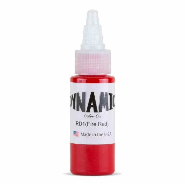 Dynamic Fire Red Tattoo Ink 1oz