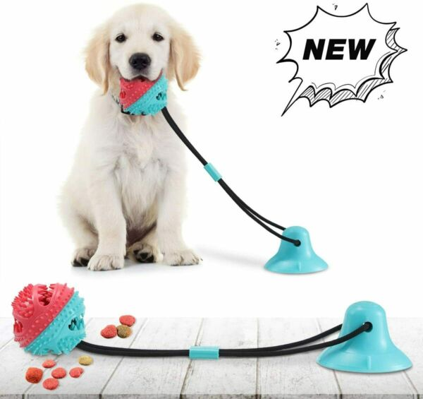 Dog Chew Toys for Aggressive Chewers Suction Cup Dog Chewing Toy Dog Rope Ball $10.39
