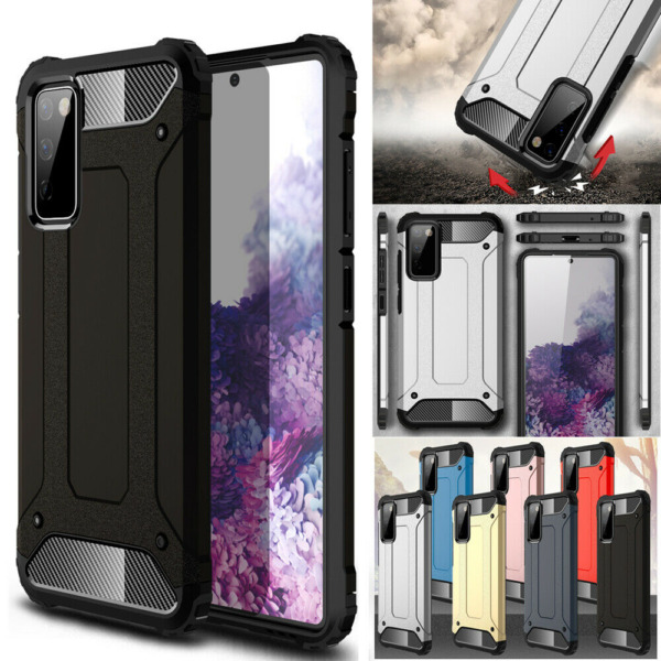 For Samsung Galaxy S20 FE 5G Shockproof Rugged Armor Hybrid Back Case Cover $8.59