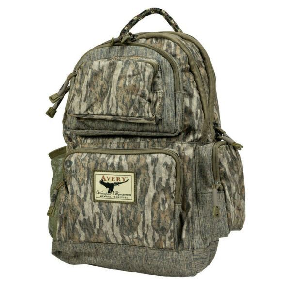 Avery Waterfowlers Day Back Pack Bottomland Camo Blind Bag Backpack NEW Banded
