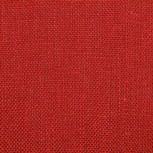 Colored Red Burlap 10.5quot; W X 12 Foot Roll Christmas Heavy Fabric 10 Oz NEW
