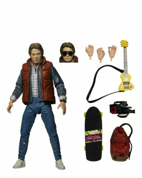 Back to the Future 7quot; Scale Action Figure Ultimate Marty McFly  NECA $29.99