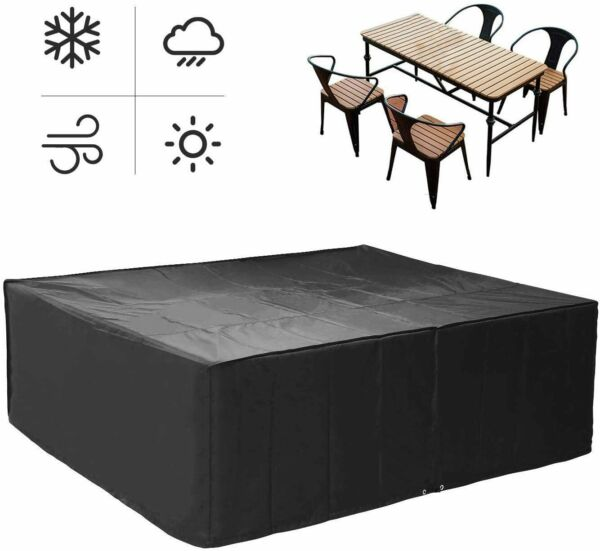 Outdoor Furniture Cover Garden Patio Waterproof Case for Rattan Table Cube Sofa $17.99