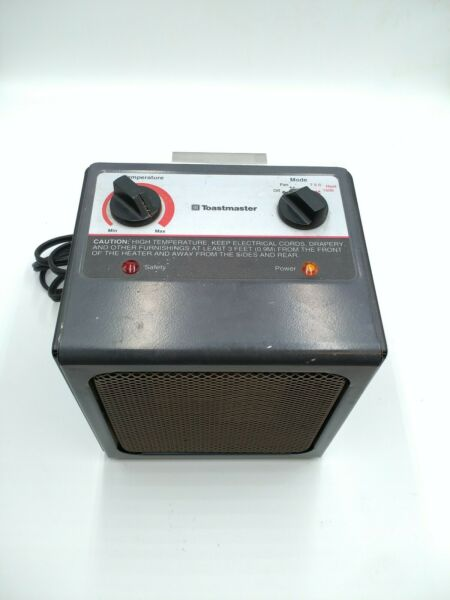 Vintage Toastmaster Ceramic Instant Heat Electric Heater Model 2517 $17.99