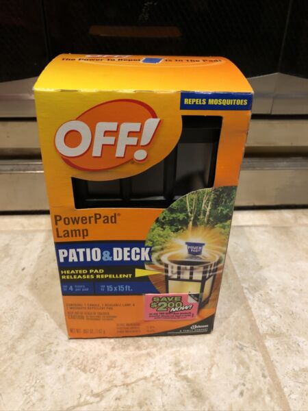 Off Power Pad Lamp Patio And Deck. Lamp 1 Candle 1 Power pad Included In Box $19.00