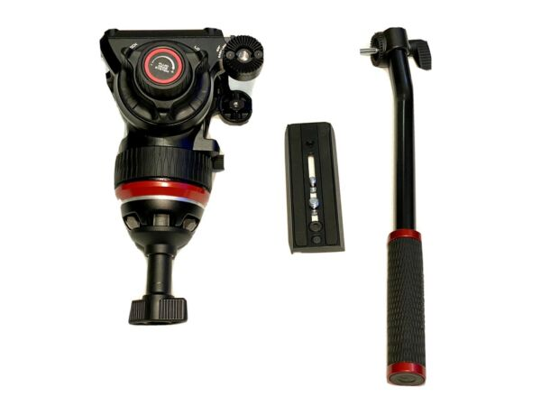 Manfrotto 504X Fluid Video Head with OEM 75mm Half Ball