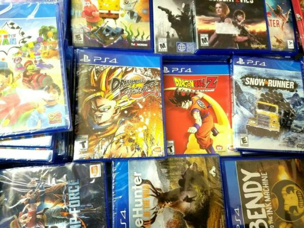 PS4 Video Games Assorted Titles Opened and Unopened ALL New Condition $16.99