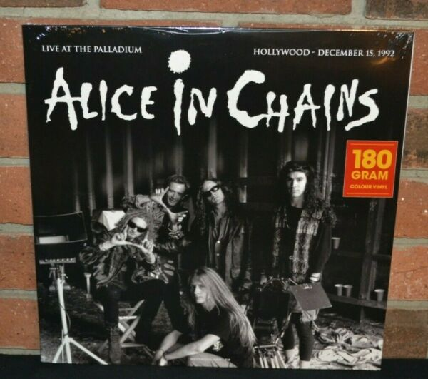 ALICE IN CHAINS Live At The Palladium 1992 Ltd Import 180G COLOR VINYL LP New