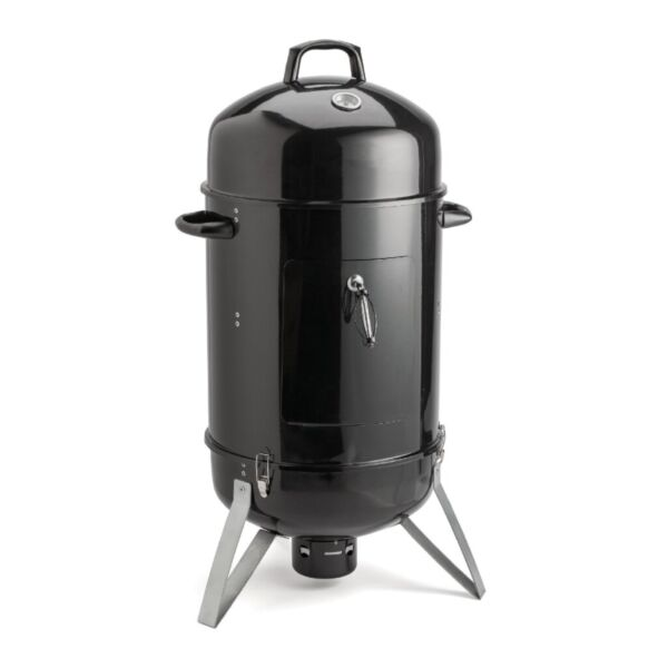 ALEKO Outdoor 2 in 1 Portable Vertical Charcoal BBQ Smoker Grill