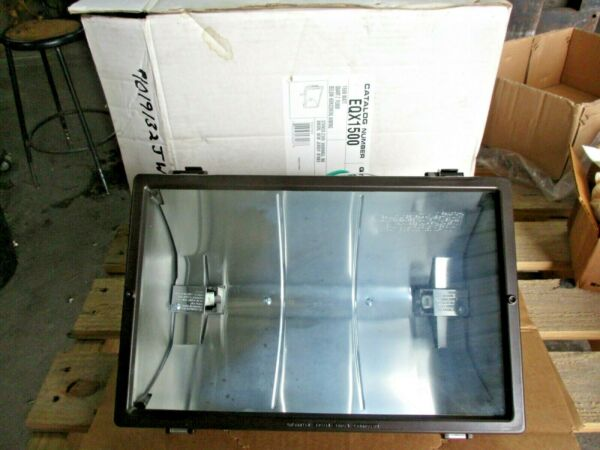 STONCO EQX1500 QUARTZ HALOGEN SECURITY LIGHT 1500 WATT #1019132JW NIB