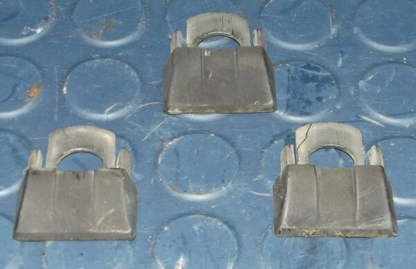 3 ROOF RACK END CAPS 1989 JEEP Cherokee XJ 4.0 L. 84 85 86 87 88 89 90 $12.00