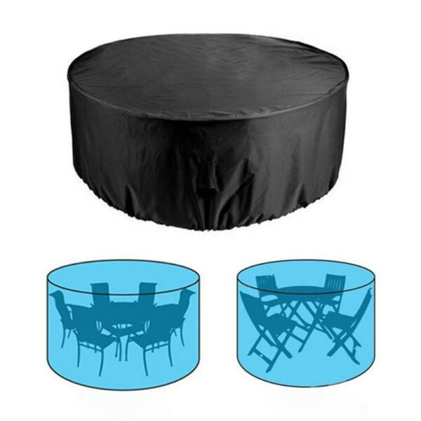 Large Round Waterproof Outdoor Yards Patio Table Chair Furniture Cover Rain Home $21.06