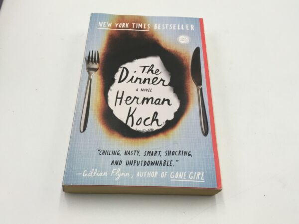 The Dinner A Novel By Herman Koch 2012 Paperback