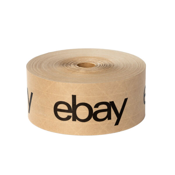 Water Tape – Brown with Black Logo