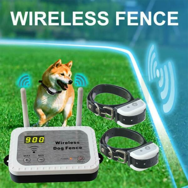 JUSTPET Wireless Dog Fence Electric Pet Containment System Range 900 Feet $89.99