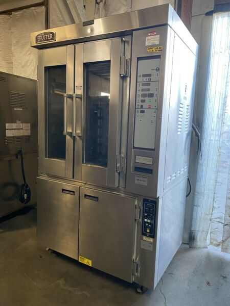 Baxter Mini Rack Oven w Base Proofer # MB300 $7500.00