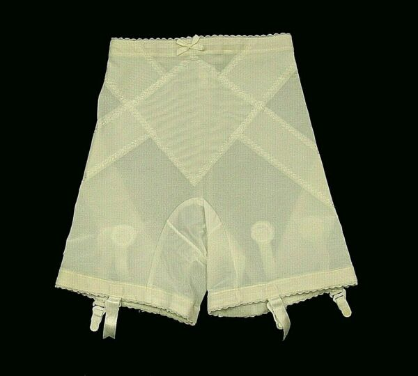 1950s 60s Vintage Garter Girdle Size Small Exquisite Form #1044