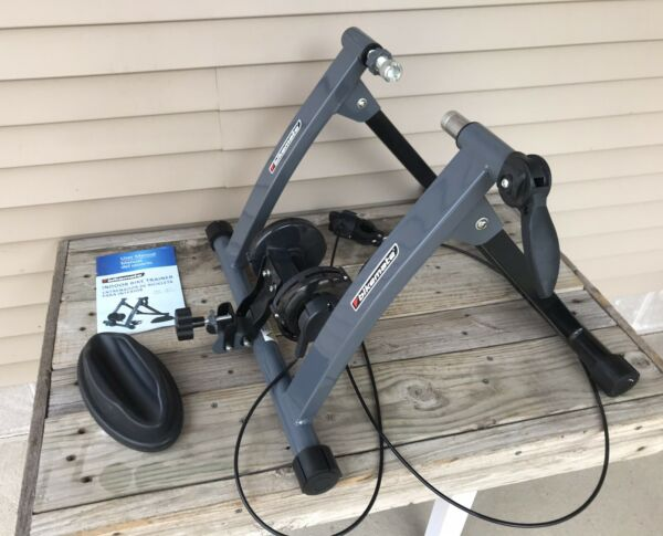 Bikemate Indoor 6 Resistance Bicycle Cycling Stationary Bike Trainer 26quot; to 29quot; $65.00