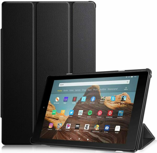 Slim Case For Amazon Fire HD 10 2019 2017 Tablet Stand Cover Auto Wake Sleep