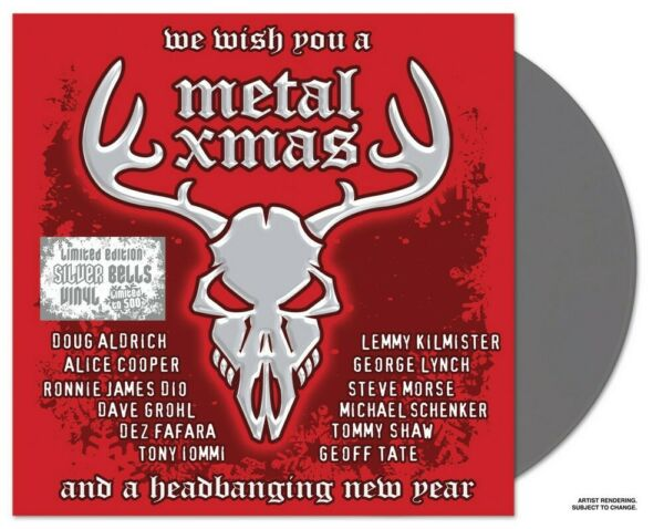 We Wish You A Metal Xmas And A Headbanging New Year Silver Bells 2LP $19.99