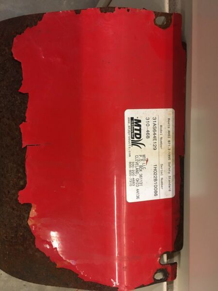 MTD Yard Machines Snow blower PARTS bottom cover Good Used