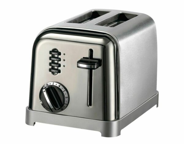 Cuisinart Classic 2 Slice Toaster Stainless Steel