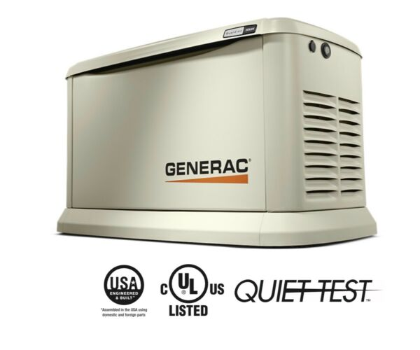 Generac Synergy 7040 20KW 200 amp Air cooled Standby Power Generator
