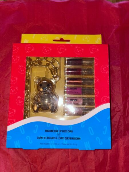 Brand New amp; Authentic Moschino Sephora Bear Lip Gloss Chain Limited Edition $65.00