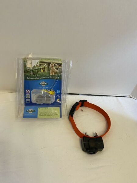 PetSafe Collar for Wireless Fence Receiver Orange Color Pet Containment $50.00
