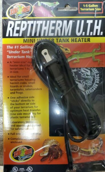 ZOOMED REPTITHERM UNDER TANK HEATER 1 5 GAL **FREE SHIPPING** $15.93