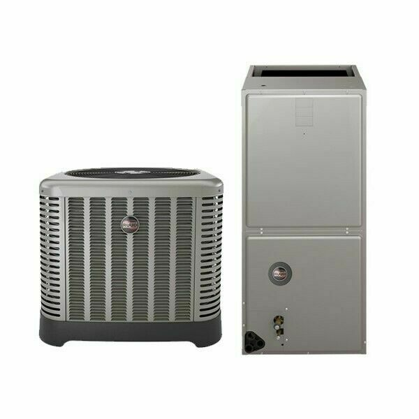 5 Ton 16 Seer Ruud by Rheem Air Conditioning System w 20Kw Heat Kit $3733.00