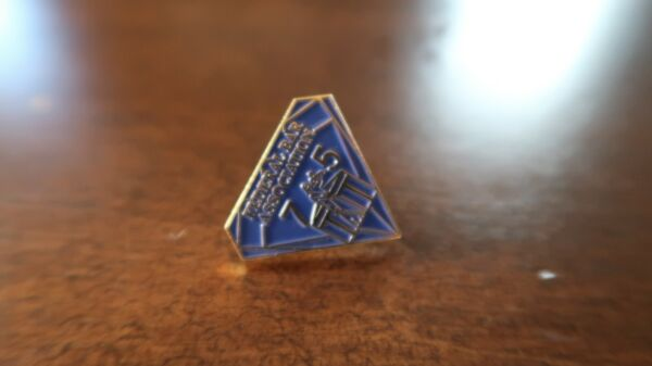 Vintage Federal Bar Association 75 Lapel Pin 2cm