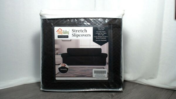 Chocolate Easy going Sofa Stretch Slip Cover Open box Never used Super Soft $17.00