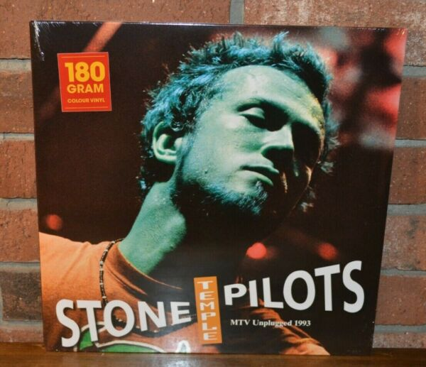 STONE TEMPLE PILOTS MTV Unplugged 1993 Ltd Import 180G COLORED VINYL LP New