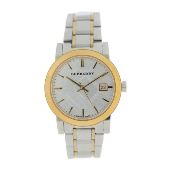 BURBERRY Watches BU9115 Stainless Steel Silverx Gold $549.00