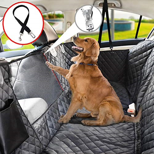 Vailge Dog Seat Cover for Back Seat 100% Waterproof Dog Car Seat Covers with $42.37