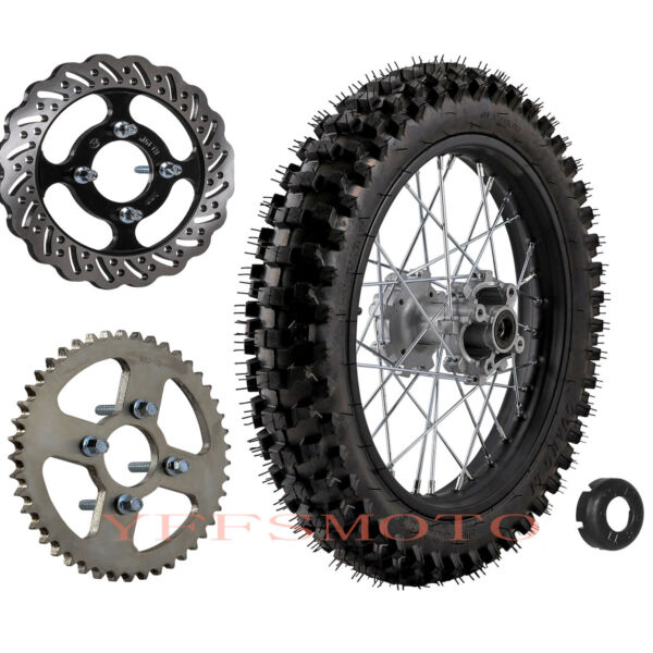 16quot; 90 100 16 Rear Wheel Rim Tire Sprocket Disc Rotor For KX KX CRF XR TTR Bike $159.99