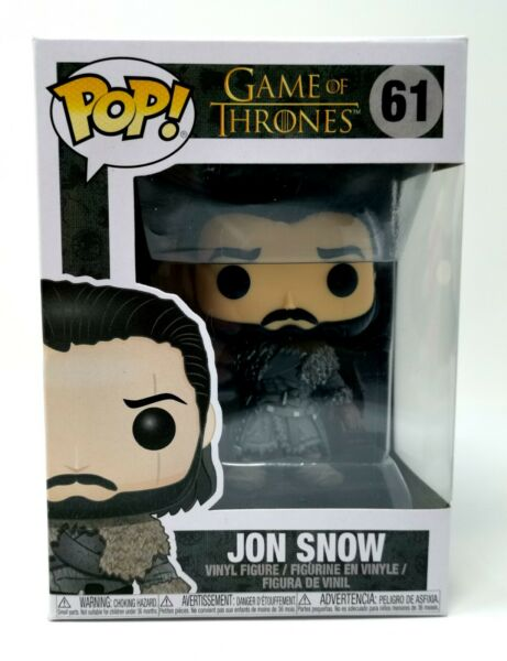 Funko Pop John Snow Game of Thrones Toy Collection trones 61 Original with box