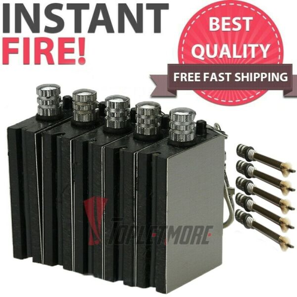 5X Waterproof Permanent Match Lighter Endless Match Survival Camp Fire Starter
