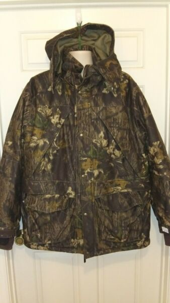 Hunting Jacket Cabelas ScentLok Dry Plus Thinsulate Fleece MOSSY CAMO LARGE TALL