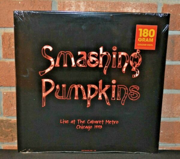 SMASHING PUMPKINS Live At The Metro 1993 Ltd Import 180G 2LP COLOR VINYL New