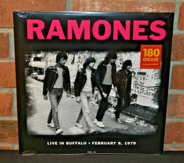RAMONES Live In Buffalo 1979 Ltd Import 180G GREEN COLORED VINYL LP New