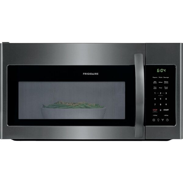 Frigidaire 1.8 Cu. Ft. Over the Range Microwave Black Stainless Steel FFMV1846VD