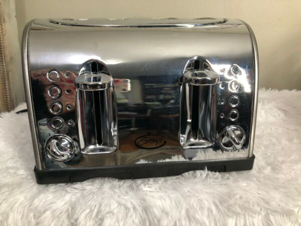Ginny#x27;s 4 Slice Toaster Stainless Chrome