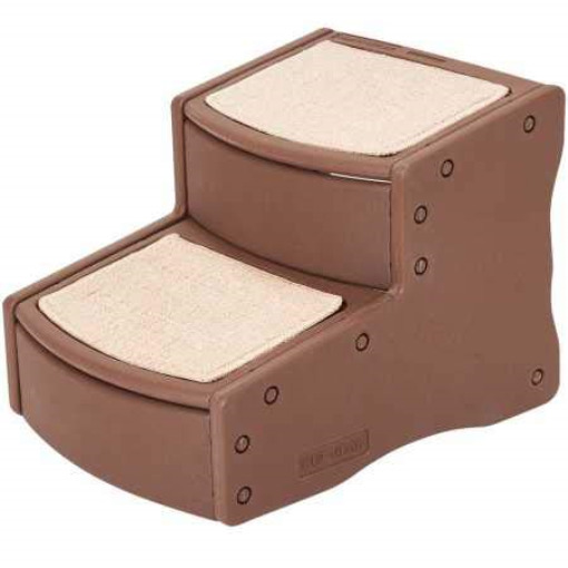 Pet Gear Easy Step II Pet Stairs 2 Step for Cats Dogs up to 75 pounds Washable $25.82